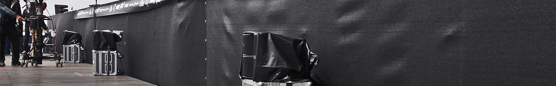 sichtschutz aus gaze und planen kaufen allbuyone. Black Bedroom Furniture Sets. Home Design Ideas