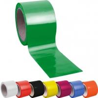 Flatterband farbig - 50 m in 8 Farben -