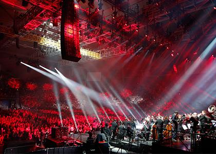Eventbedarf für Konzerte