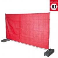 Bauzaun Sichtschutz B1 -