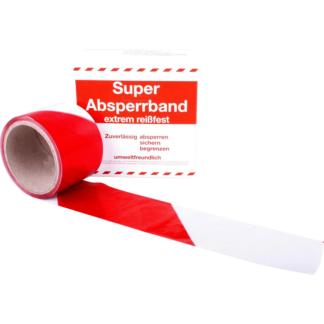 Super Absperrband Kaufen 50 M Rolle Allbuyone
