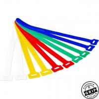 Klettkabelbinder farbig - 10er Set