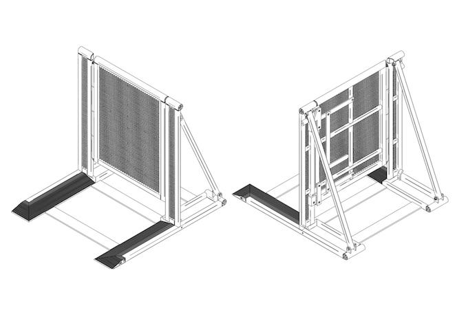 Gigs Bühnenbarrikaden Multicore Zugangstor