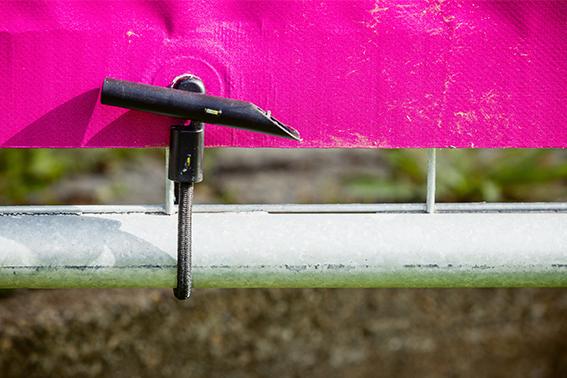 2 Planenspanner 18 cm Expander Schlinge mit Spiralhaken Gummischlinge Spannfix
