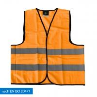 Warnweste EN ISO 20471- unbedruckt -