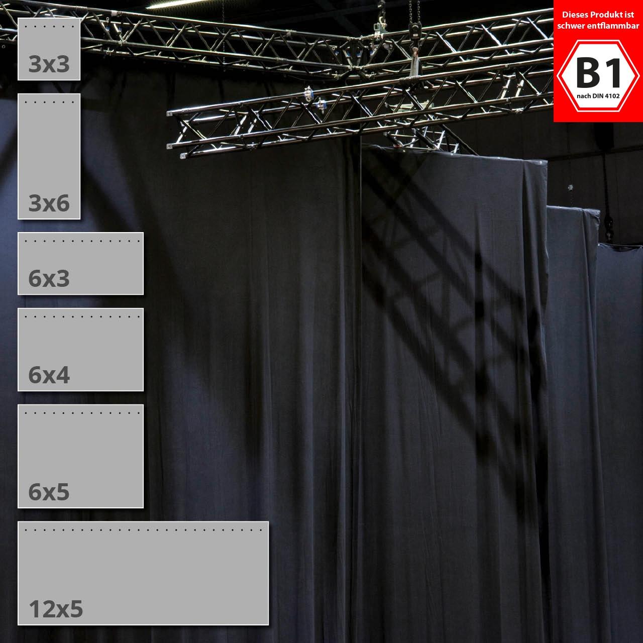 Vorhang Schallabsorbierend molton vorhang kaufen 6 standardgrößen allbuyone