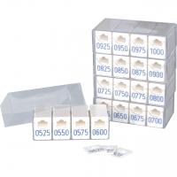 Garderobenmarken Erweiterungssatz 501-1000 -